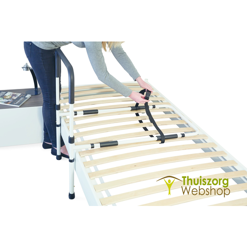 Bed support with ground support