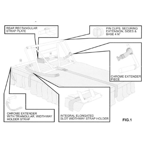 Automatische matras verhoger