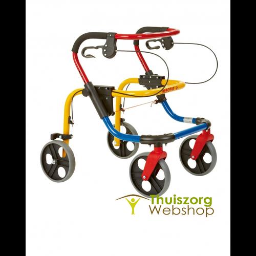 Fixi/Fox Rollator voor kinderen, jeugd en vrouwen, max. 100 kg