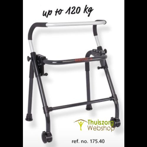 Walk-On Looprek met 2 wielen, inklapbaar max. 120 kg