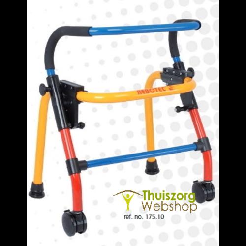 Walk-On Walker with 2 wheels, folding max. 120 kg