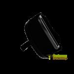 Ergonomische dunschiller met vingergreep met rechte of getande snijmesjes