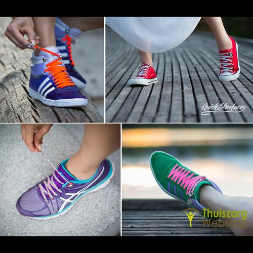 Quickshoelace elastische schoenveters