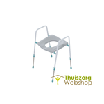 Toilet frame with Prima FP seat