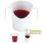Nasal cup 200 ml - transparent
