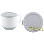 250 ml insulating cup - white