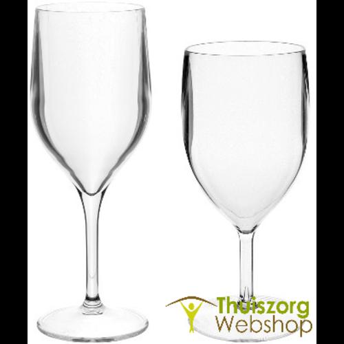 Wijnglas in PVC