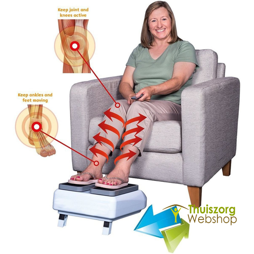 Cardio device for blood circulation in the legs