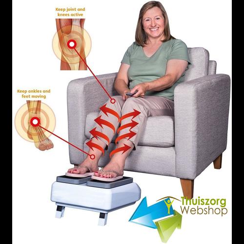 Cardioapparaat voor bloedcirculatie in de benen