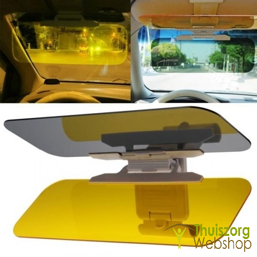 Day and night car flap