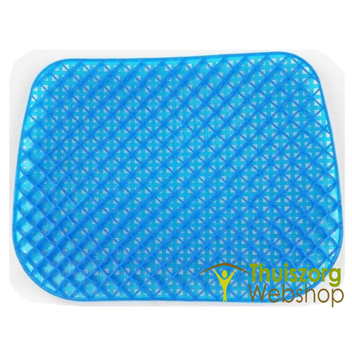 Gel cushion with honeycomb structure