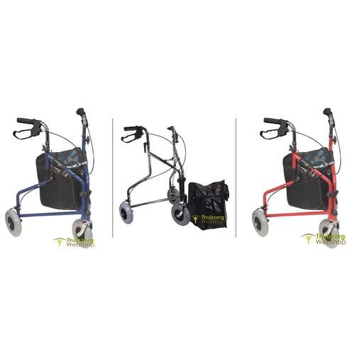 Three-wheeled walker