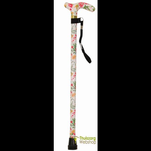 Luxury folding walking stick