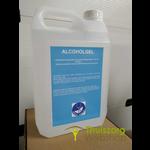 Desinfectie zuil houder