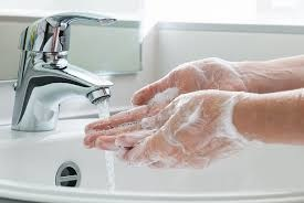 Disinfection of the hands