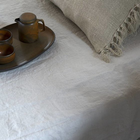 100% stonewashed Leinen-Laken Maxime - Sale