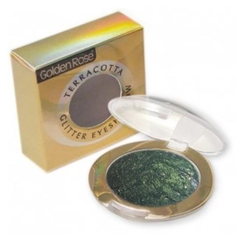 Golden Rose Terracotta Eyeshadow Glitter 210