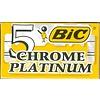 Eurostil Bic Chrome Platinium Pakje 5 St.