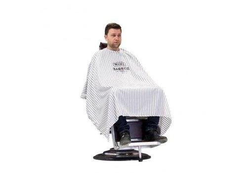 Wahl Wahl Barber Kaplaken Wit Met Zwarte Strepen 148x153 cm