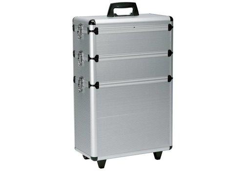 Sinelco Koffer Modular Zilver 3- Delig