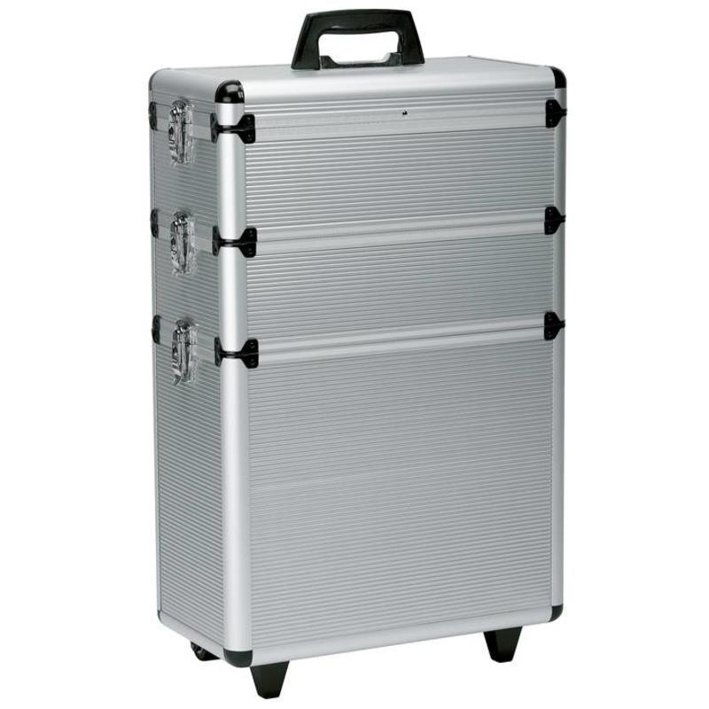 Alu Koffer 3 Delig 65X43X22 Op Wielen 0150431