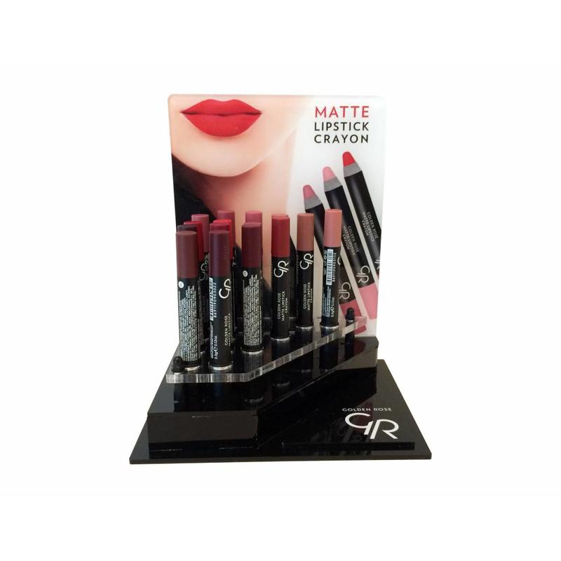 Display Crayon Matte Lipstick 20 Stuks