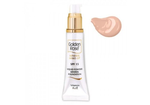 Golden Rose GR Mineral Liquid Foundation 2