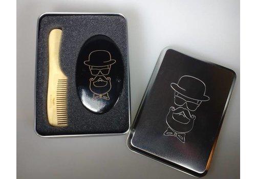 Bratt Trading Bratt Barber Kit Comb & Brush Ref:1940