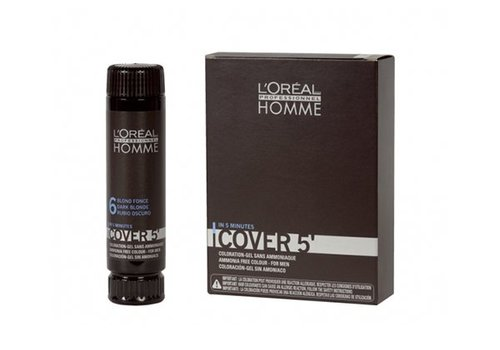 Loreal Loreal Cover Homme Lichtbruin nr.5 3x50ml