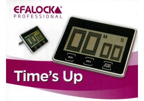 "Efalock Wekker Efalock ""Time's Up"""