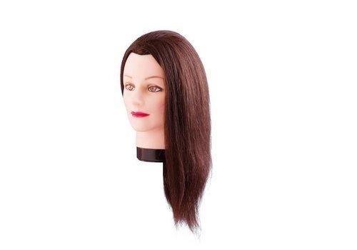 Oefenhoofd Estelle 50 Cm Echt Haar
