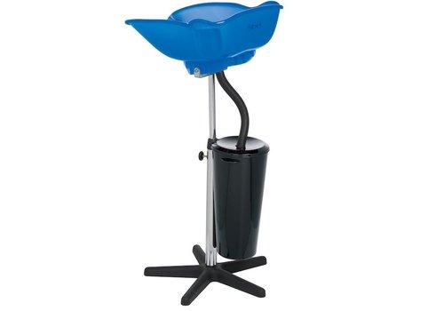Sinelco Compact Draagbare Wastafel Blauw Transparant