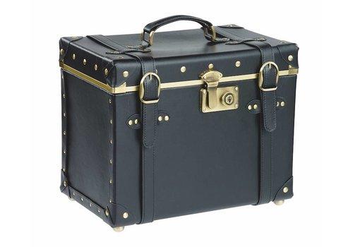 Sinelco Naomi-Vintage Beauty Case Zwart 36X23X29Cm Sibel