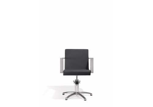 Sinelco Devotio Kappersstoel Zwart Met 5 Sterren Voet