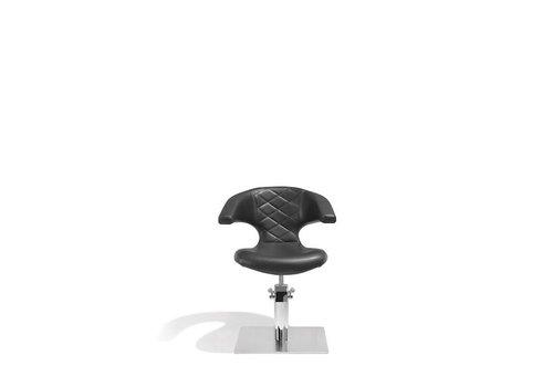 Sinelco Sensualis Kappersstoel Zwart Met Vierkante Voet