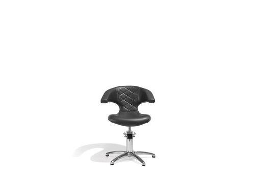 Sinelco Sensualis Kappersstoel Zwart Met 5 Sterren Voet