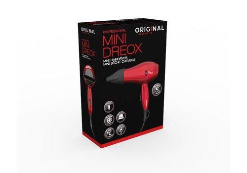 Sinelco Mini Haardroger 1100W Dc Met.Rood 220/240V/110V Original