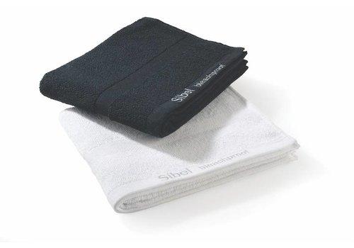 SIBEL (BEAUTY) Bleachproof Handdoek Katoen Kleurvast 48X75Cm Wit