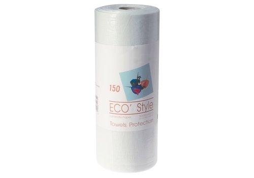 Sinelco Verfbeschermingsdoek Geplastifieerd 150 Vellen 50X40Cm
