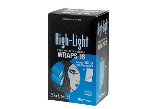 Sinelco High-Light Wraps 10X18Cm 1000St