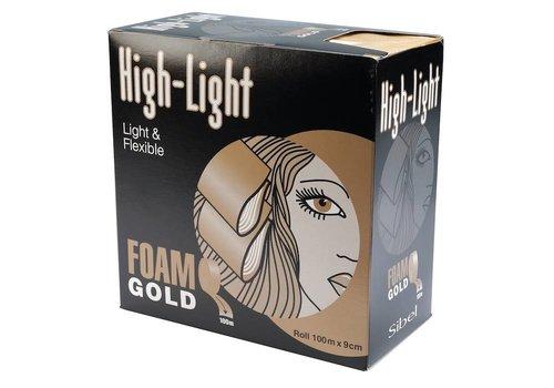 Sinelco Hi Lite Foam Gold Rol 100Mx9Cm