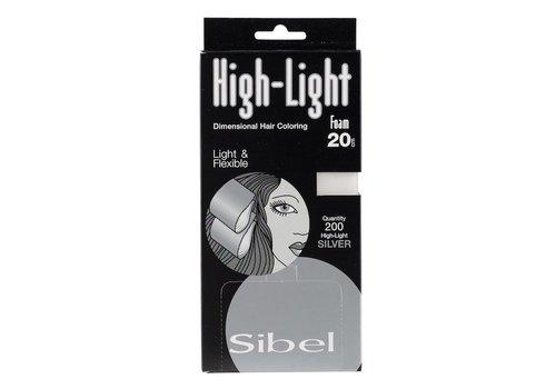 Sinelco Hi Lite Foam Zilver 200 Stk 9,5X20 Cm