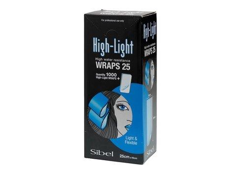 Sinelco High-Light Wraps 10X25Cm 1000St