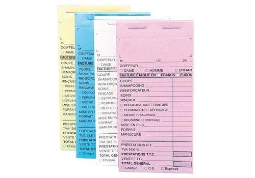 Sinelco Kasboek Zn Nummer Blauw 10St