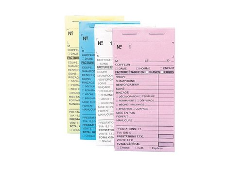 Sinelco Kasboek Genummerd Blauw 10St