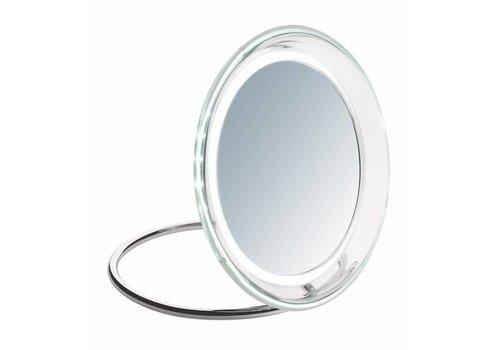 Sinelco Roma 19Cm Super Bright Acrylic Led Mirror X5