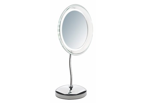 Sinelco Stockholm 23Cm Led Table Mirror X5