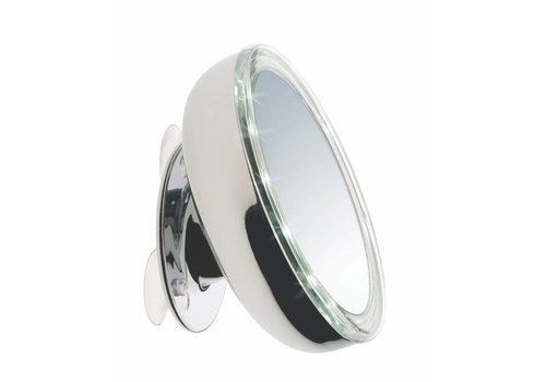 Sinelco Oslo 13Cm Led Suction Mirror X3