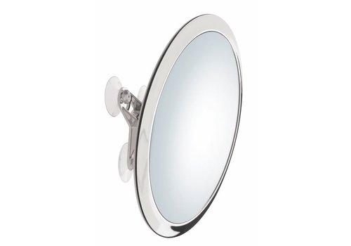 Sinelco Praag 20Cm Suction Wall Mount Round Mirror X5