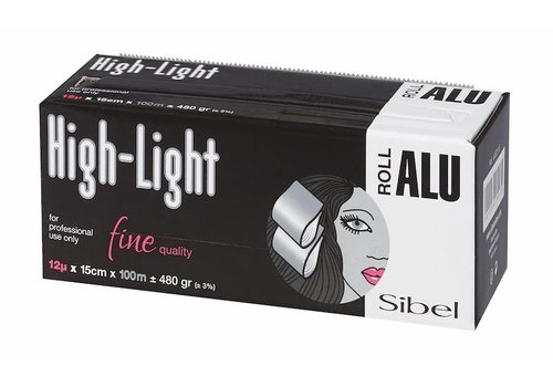 Sinelco High-Light 12µ Rol Aluminium 100M X 15Cm Sibel